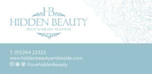 Hidden Beauty Gift Voucher